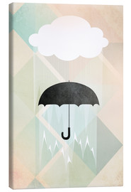 Canvas print  Umbrella - Julia Bruch