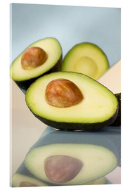 Acrylic glass  Mirrored avocado - Julia Bruch