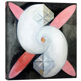 Canvas print  The swan, No. 21 - Hilma af Klint