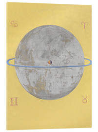 Acrylic print  The Dove, No. 12 - Hilma af Klint