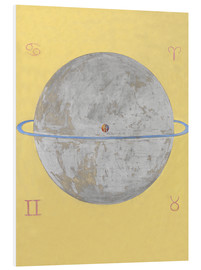 Foam board print  The Dove, No. 12 - Hilma af Klint