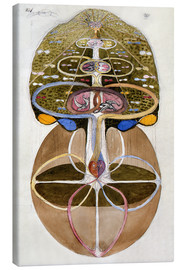 Canvas print  Tree of Knowledge, No. 1 - Hilma af Klint