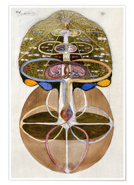Hilma af Klint - The Tree of Knowledge 1