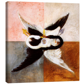 Canvas print  The Swan - Hilma af Klint