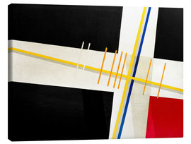 Canvas print  Composition On 3 - László Moholy-Nagy