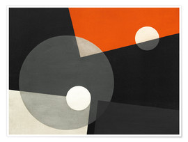 Poster  Composition On 7 - László Moholy-Nagy