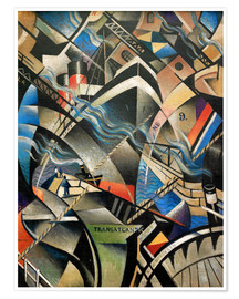 Poster  The Arrival - Christopher Nevinson