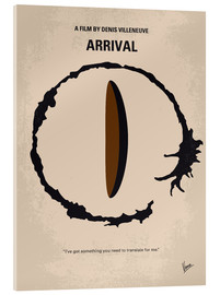 Acrylic glass  No735 My Arrival minimal movie poster - chungkong