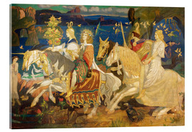 Acrylic print  Riders of the Sidhe - John Duncan