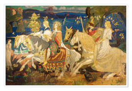 Premium poster  Riders of the Sidhe - John Duncan