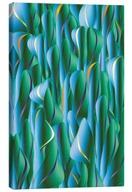 Canvas print  Another Green World - Angelo Cerantola