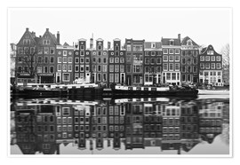 Poster  Reflections of Amsterdam - George Pachantouris