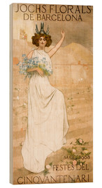 Wood  Yoke Florals de Barcelona - Ramon Casas i Carbo