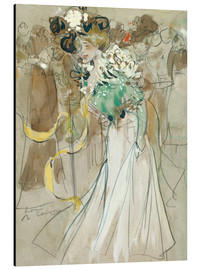 Aluminium print  Celebrations in Toulon - Ramon Casas i Carbo