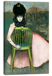 Canvas print  cigarillos París - Ramon Casas i Carbo