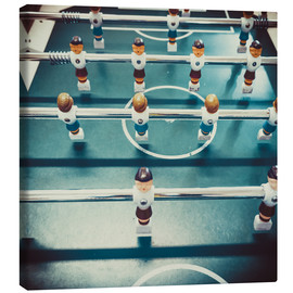 Canvas print  Old Foosballtable