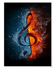 Fire and water music
