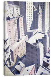 Christopher Nevinson - Looking Down on Downtown