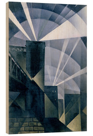 Christopher Nevinson - The First Searchlights at Charing Cross