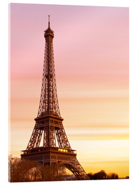 Acrylic print  Beautiful Light in Paris - Mike Clegg Photography