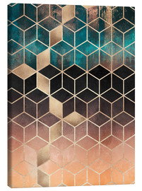 Canvas  Ombre dream cubes - Elisabeth Fredriksson