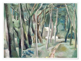 Premium poster  The Forest - Paul Nash