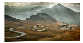 Acrylic glass  Passo Giau, Dolomites, Italy - Frank Fischbach