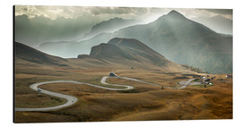 Aluminium print  Passo Giau, Dolomites, Italy - Frank Fischbach