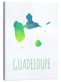 Canvas print  Guadeloupe - Stephanie Wittenburg