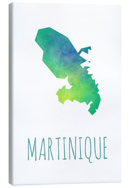 Canvas print  Martinique - Stephanie Wittenburg