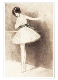 Poster  The Ballerina - Maurice Milliere