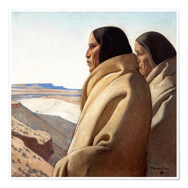 Maynard Dixon - Men of the Red Earth