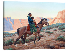 Canvas  Navajo Mother - Maynard Dixon