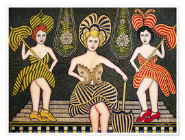 Premium poster  Stage Beauties - Morris Hirshfield
