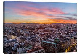 Mike Clegg Photography - Vienna Skyline at sunset, Austria