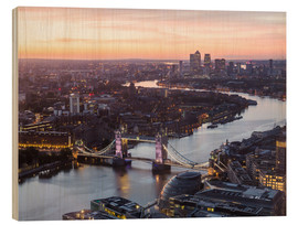 Wood  Colourful sunsets in London - Mike Clegg Photography