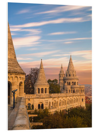 Foam board print  Fishermans Bastion, Budapest - Mike Clegg Photography