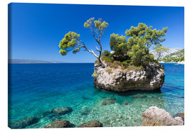 Canvas print  Croatian Beach - Frank Fischbach