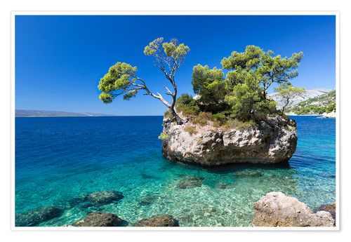 Premium poster Croatian Beach