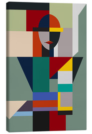 Canvas print  Nameless woman - THE USUAL DESIGNERS