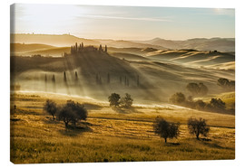 Canvas print  Dawn in Tuscany, Italy - Frank Fischbach