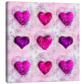 Canvas print  Pink Passion - Andrea Haase