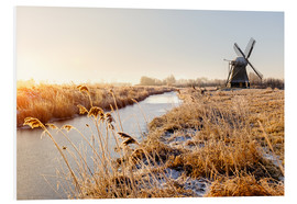 Forex  Windmill near Sande at cold winter morning - Reemt Peters-Hein