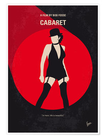 Premium poster No742 My Cabaret minimal movie poster