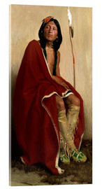 Acrylic print  Elk Foot of the Taos Tribe - Eanger Irving Couse