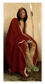 Premium poster  Elk Foot of the Taos Tribe  - Eanger Irving Couse