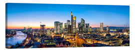 Canvas  Skyline panorama from Frankfurt - Jan Christopher Becke