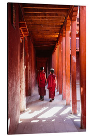 Aluminium print  Two young monks in a monastery, Nepal - Matteo Colombo