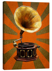 Canvas  Gramophone