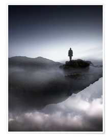 Poster  A Place To Think - George Christakis